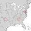 Alnus maritima range map 1.png