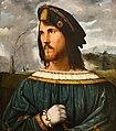 Altobello Melone - Cremona 1490-1491 - ante 1543 - Ritratto di gentiluomo - 1513 circa - Accademia Carrara Bergamo.jpg