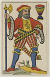 Aluette card deck - Grimaud - 1858-1890 - Jack of Cups.jpg