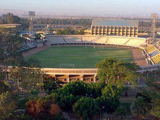 Aluminium Stadium - Image: Aluminium Stadium