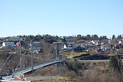 Alversund Bridge.