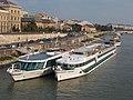 Amadeus Symphony (ship, 2003) Danubia (ship, 1980), 2018 Ferencváros.jpg