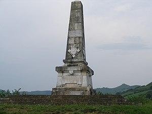 Ignacio Baleztena Ascárate - Navarre defenders monument, Maya