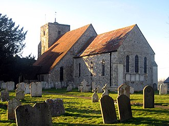 Amberley, West Sussex - Image: Amberley St Michael