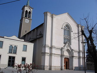 Ambivere - The church of St. Zeno in Ambivere