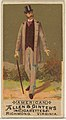 American, from the Natives in Costume series (N16) for Allen & Ginter Cigarettes Brands MET DP834813.jpg