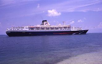 SS Guglielmo Marconi - American Adventure in Key West Harbor.