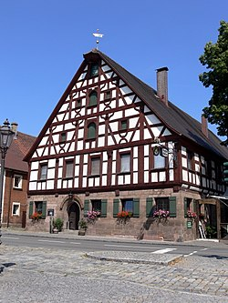 """The Sun"" inn at Ammerndorf"