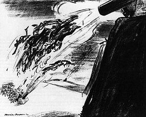 Maurice Becker - Ammunition (1914) by Maurice Becker,