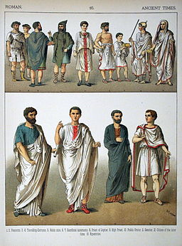 Ancient Times, Roman. - 016 - Costumes of All Nations (1882)