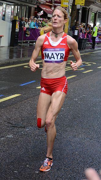 Austria at the 2012 Summer Olympics - Andrea Mayr in women's marathon