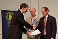 Andy Lawrence, Steve Warren and Roger Davies, NAM 2012.jpg