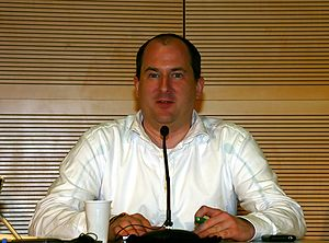 Andy Müller-Maguhn - Müller-Maguhn at the May 22, 2009 SIGINT conference