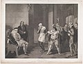 Angelo's House–Escalus, a Justice, Elbow, Froth, Clown, Officers, etc. (Shakespeare, Measure for Measure, Act 2, Scene 1) MET DP859582.jpg