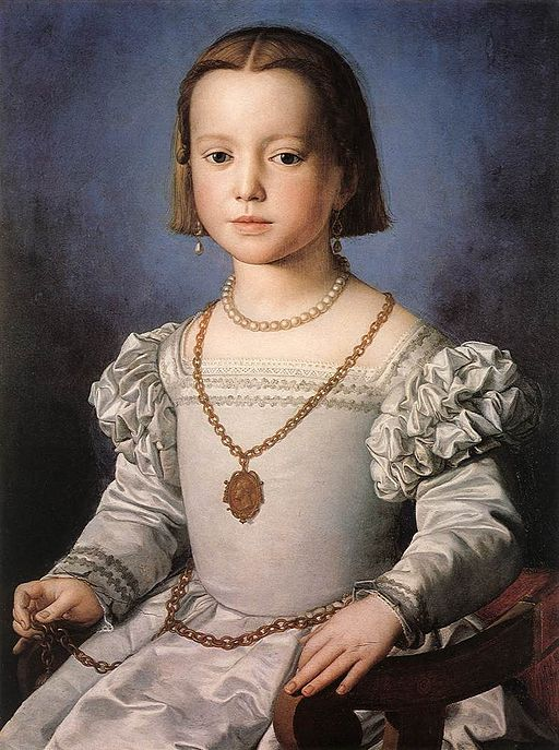 Angelo Bronzino - Bia, The Illegitimate Daughter of Cosimo I de' Medici - WGA3244