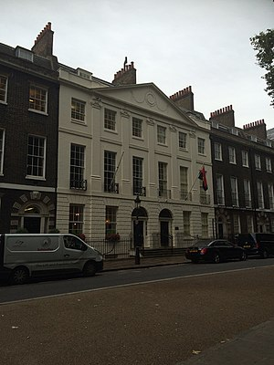 Embassy of Angola, London - Image: Angolan consulate, London
