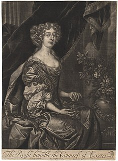 Anne Cecil, Countess of Exeter