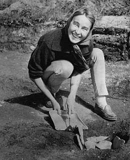 Norwegian archaeologist