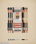 Anni Albers (1899–1994), Design for a Jacquard Weaving, 1926.jpg
