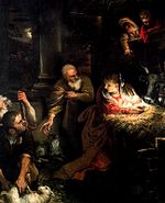 Annibale Carracci Adoration of the Shepherds Roma.jpg