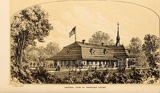 Central Park Casino restaurant, later nightclub, in New York City