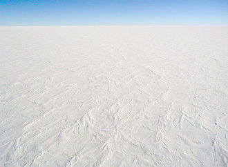 Desert - Cold desert: snow surface at Dome C Station, Antarctica