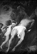 Anthony van Dyck - St Sebastian Being Tended by Two Angels - KMSsp238 - Statens Museum for Kunst.jpg