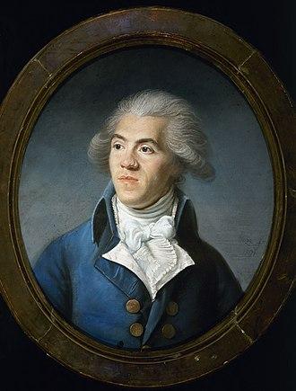 Antoine Barnave - Antoine Barnave by Joseph Boze (1791, Carnavalet Museum)