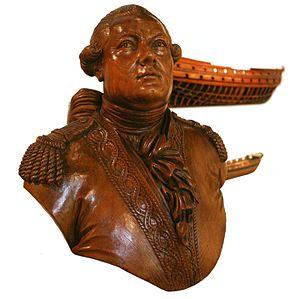Antoine Groignard - Bust of Antoine Groignard at Toulon naval museum.