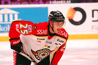 Anton Hedman Swedish ice hockey player