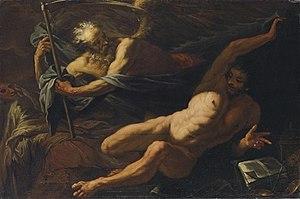 Antonio Zanchi - Image: Antonio Zanchi Alegoría del Tiempo