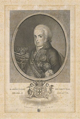 Transfer of the Portuguese Court to Brazil - Dom João VI
