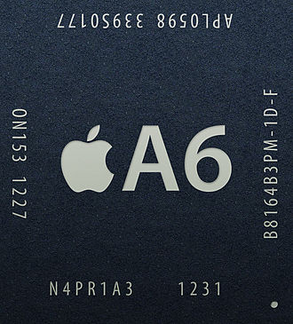 IPhone 5 - Apple's A6 chip is 22% smaller than the Apple A5 and consumes less power.