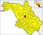 Locatio Aquarae in provincia Salernitana