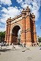 Arc de Triomf, domingo de Ramos.jpg