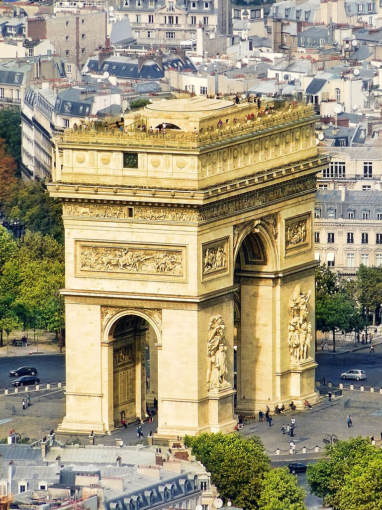 file arc de triomphe paris 3 october wikimedia commons. Black Bedroom Furniture Sets. Home Design Ideas