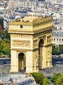 Arc de Triomphe, Paris 3 October 2010.jpg