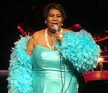 Aretha Franklin - is a singer, songwriter and pianist American 220px-Arethafranklin