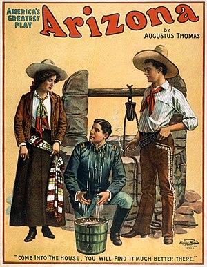 Augustus Thomas - 1907 playbill for Arizona