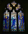 Arkesden Church of St Mary - north aisle east window, Essex, England.jpg