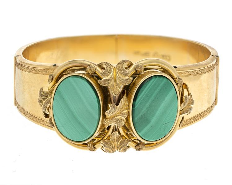 Armband av guld, 1868 - Hallwylska museet - 110136