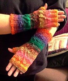 Перчатки без пальцев схема фото 827