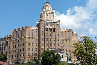 National Register of Historic Places listings in Garland County, Arkansas - Image: Army Navy Hospital 002