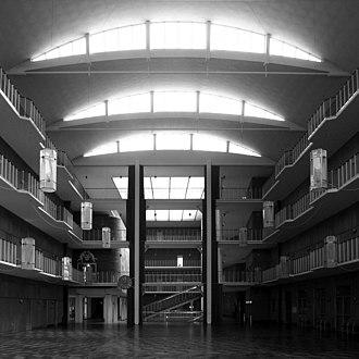 Aarhus City Hall - Image: Arne jacobsen, aarhus town hall 1937 1942 2
