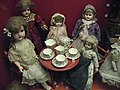 Arrangement of Dolls at Museum of Childhood, Edinburgh.JPG