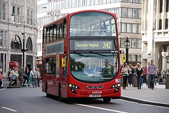 Arriva London - Wright Gemini 2 bodied VDL DB300 on route 242