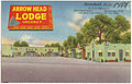 Arrowhead Lodge, on Highway 66, 2014 West Central, Albuquerque, New Mexico, one block from historic Old Town Plaza.jpg