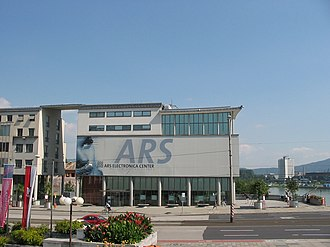 Ars Electronica Center - Ars Electronica Center before the reconstruction in the daytime
