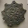 Arte provinciale romana, ornamento per cintura da lodi vecchio, fine IV-inizio V sec..JPG