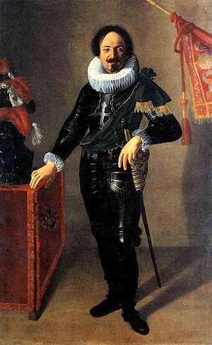 Portrait of a Gonfaloniere - Image: Artemisia Gentileschi Condottiero Bologna